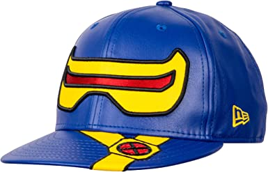 X-Men/'s Cyclops Character Armor 59Fifty Fitted New Era Hat Blue