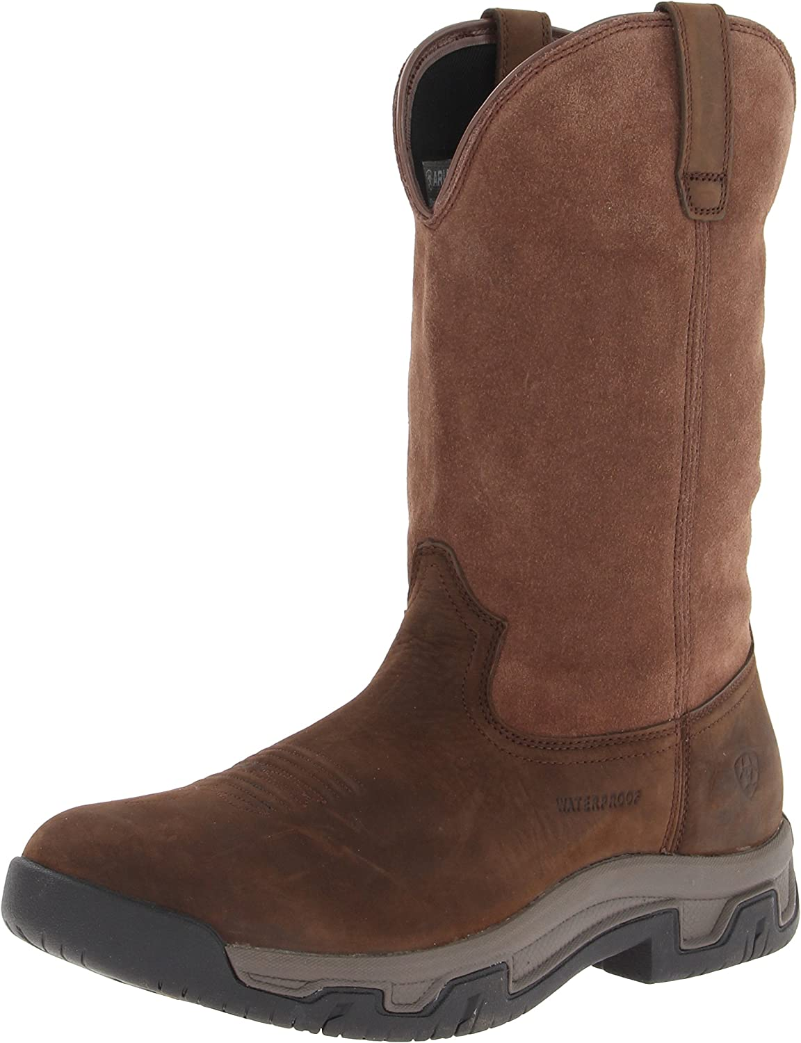 ARIAT Men s Terrain Pull On Waterproof Boot