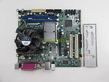 intel dg41ty g41 motherboard matx core 2 duo e8400 3ghz cpu hsf