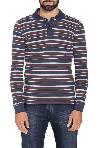 Carrera Jeans - Camiseta Tipo Polo para Hombre, de Rayas ES XXL ...