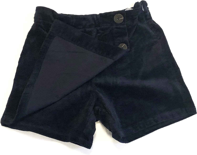 116-152 Rock dunkelblau Shorts neu! NAME IT M/ädchen Cord-Hosenrock Gr