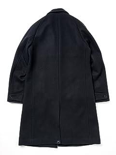 Melton Chesterfield Coat 51-19-0180-565: Navy