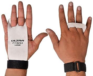 Los guantes de cuero ULTRA FITNESS para levantamiento de pesas y WOD, Crossfit, entrenamiento