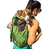 K9 Sport Sack Trainer | Dog Carrier Dog Backpack for Pets (Medium, Greenry)