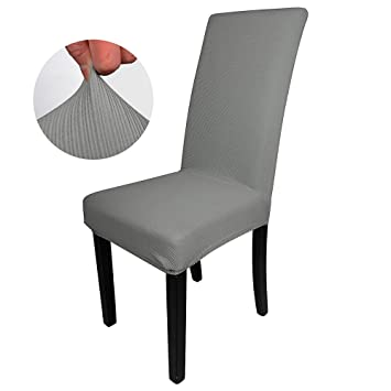 Image Unavailable Not Available For Color LIXFDT Dining Room Chair Covers Jacquard Stretch