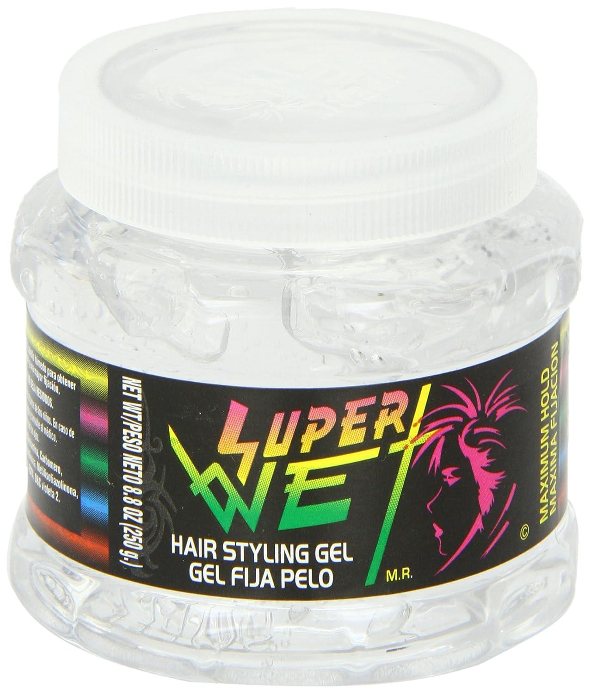Amazoncom Super Wet Plus Transparent Hair Gel Transparente - Hair gel