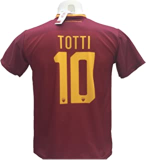 a6e5e6d963 Maglia Calcio Totti 10 Roma Replica Autorizzata 2017-2018 Bambino (Taglie 2  4 6