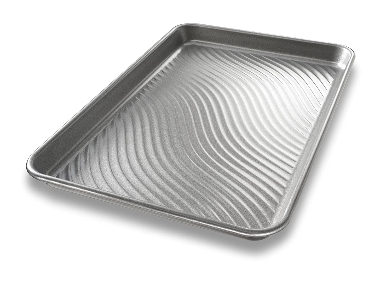 USA Pan Patriot Pan Bakeware Aluminized Steel Half Sheet Pan 1050HS-TAR