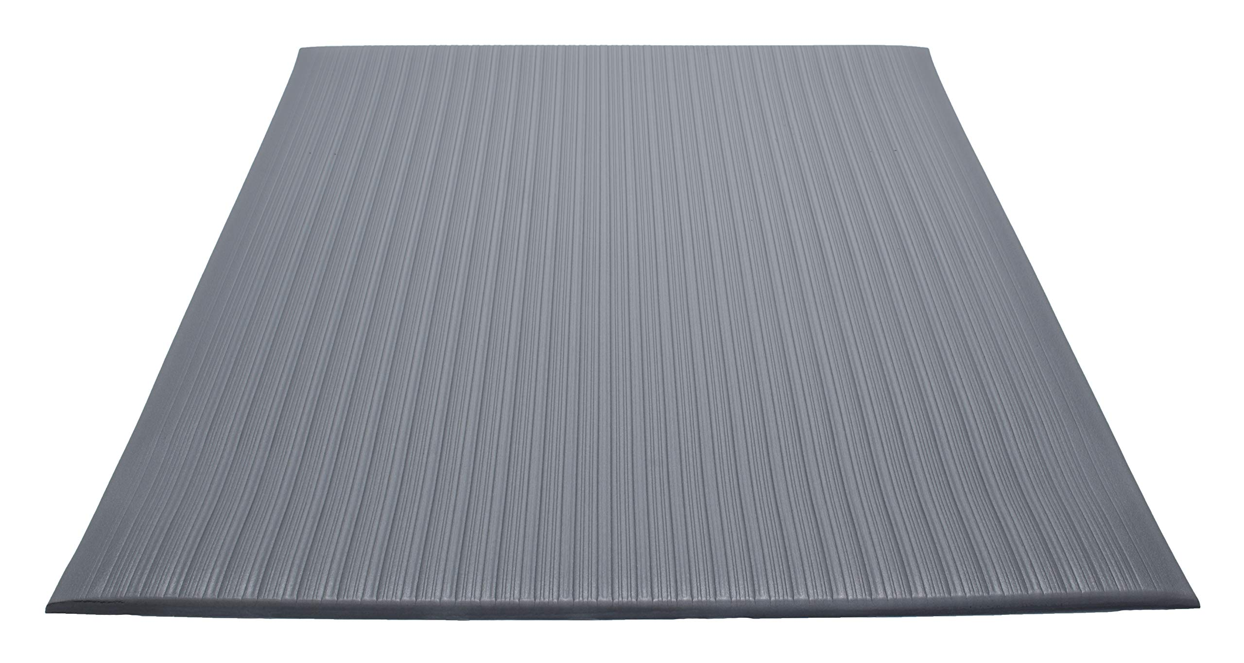 Guardian Air Step  Anti-Fatigue Floor Mat, Vinyl, 2'x60', Gray, Reduces fatigue and discomfort, Can be easily cut to fit any space
