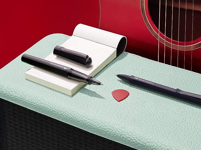 Faber Castell - Pluma estilográfica Hexo, color Negro: Amazon.es: Oficina y papelería