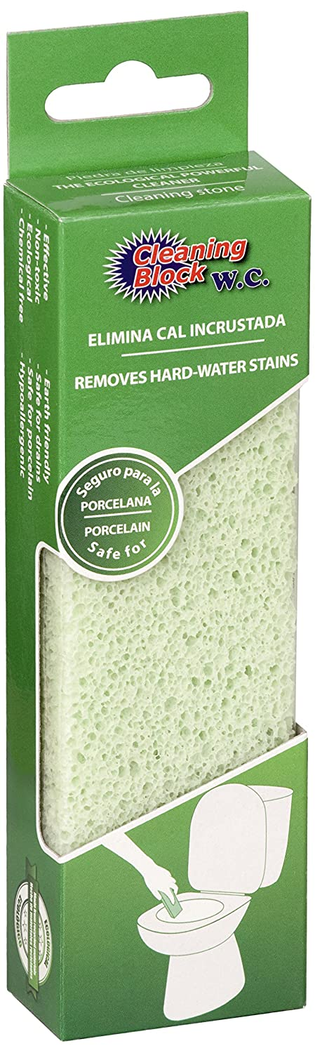 Polydros 10007A Cleaning Block, WC Toilette-Reinigungsstein: Amazon ...