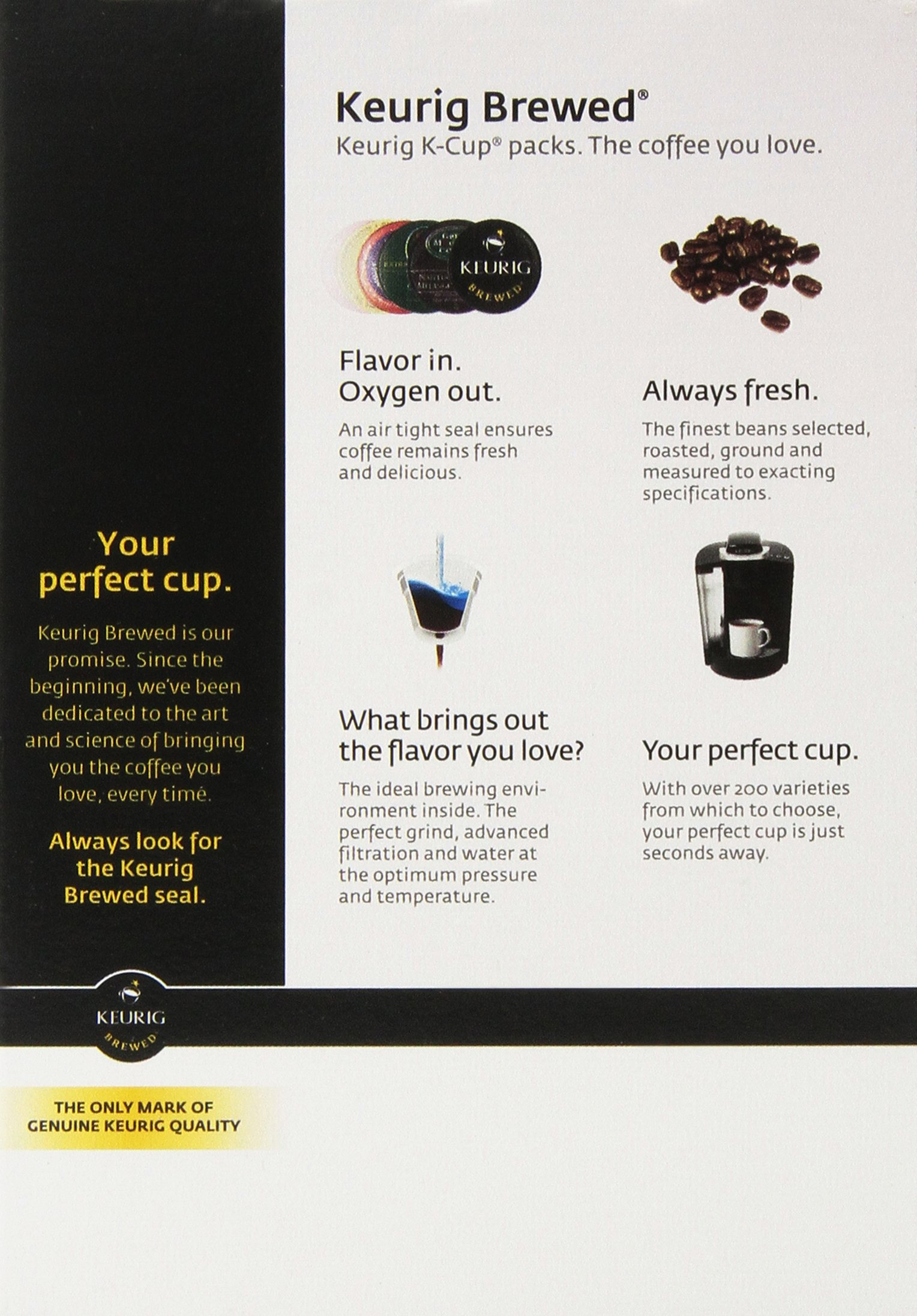Gloria Jean's Medium Roast K-Cup for Keurig Brewers, Mudslide Coffee 24 count (Pack of 4)