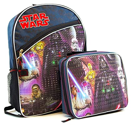 Clothes, Shoes & Accessories Star Wars School Lunch Box Lunch Bag Zip Bags