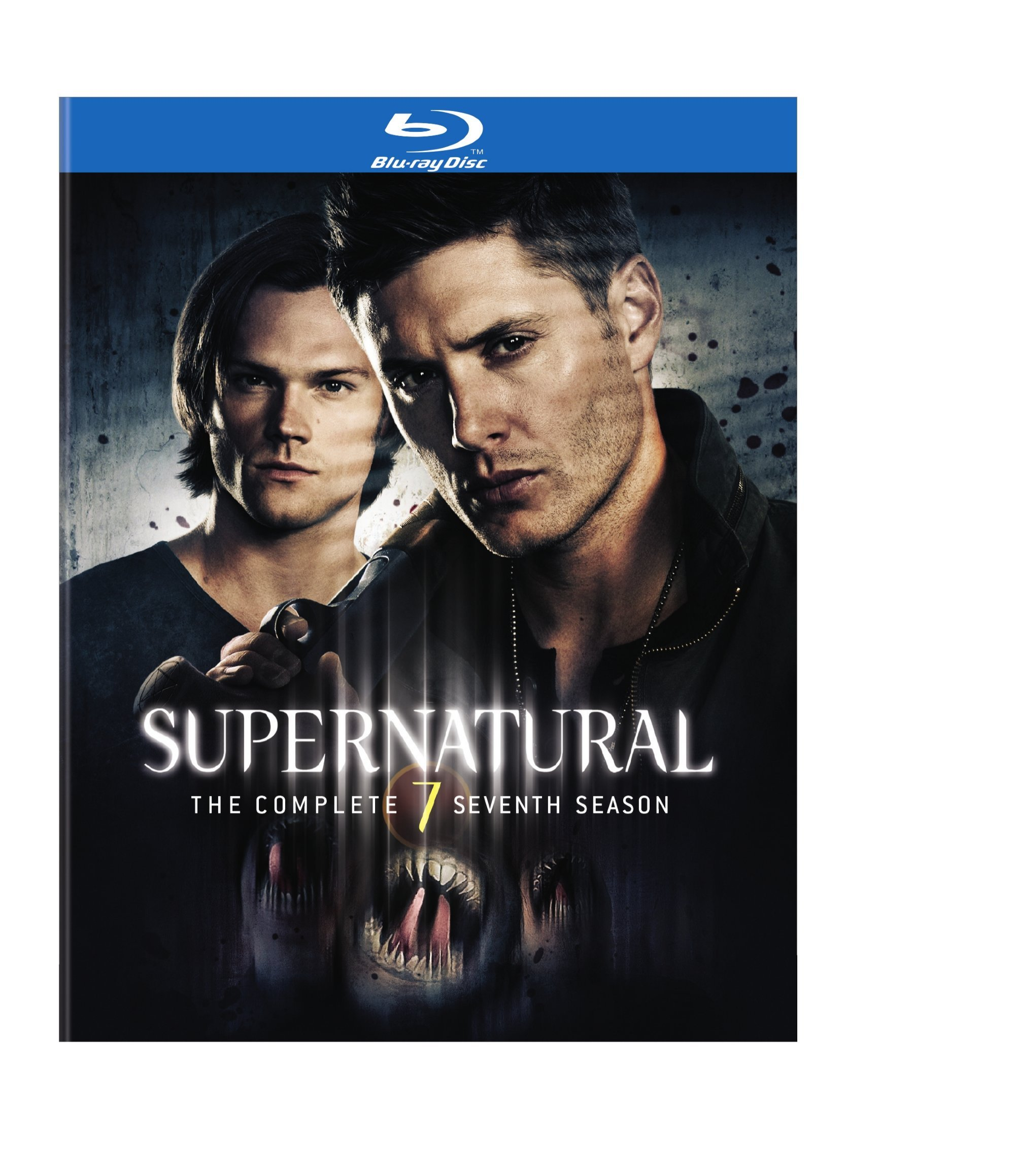 Blu-ray : Supernatural: The Complete Seventh Season (Ultraviolet Digital Copy, Digital Theater System, , 4 Disc)