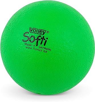 Volley ® SOFTI Pelota de Espuma - 160 mm - Amarillo: Amazon.es ...