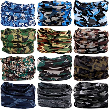 9dddc1fa3fe Headwear Head Wrap Sport Headband Sweatband 220 Patterns Magic Scarf 12PCS    6PCS 12 in 1