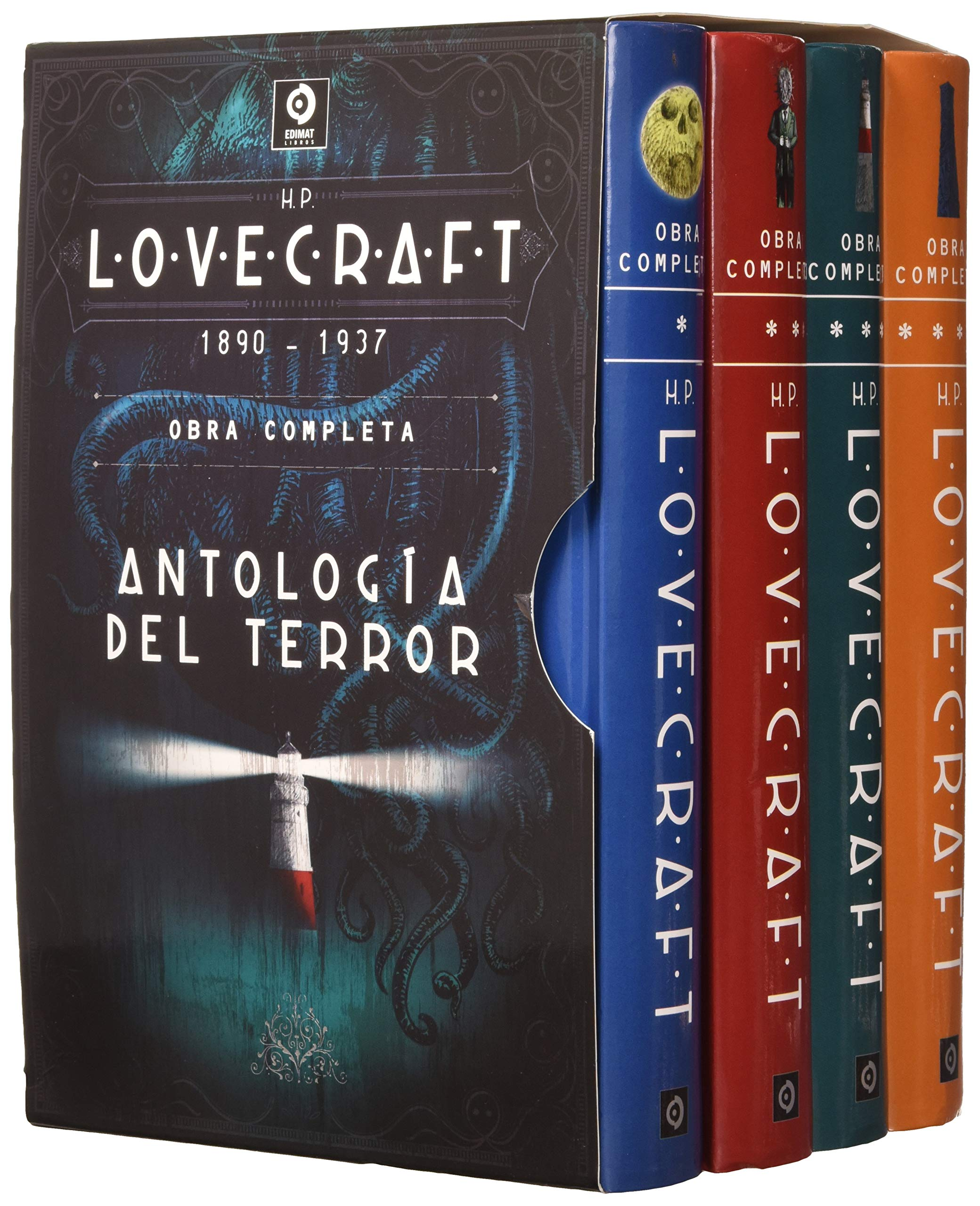 H.P. LOVECRAFT OBRA COMPLETA: Amazon.es: LOVECRAFT, H.P., BLANCO URGOITI, JAVIER, RUÍZ DE LUNA, PEDRO: Libros