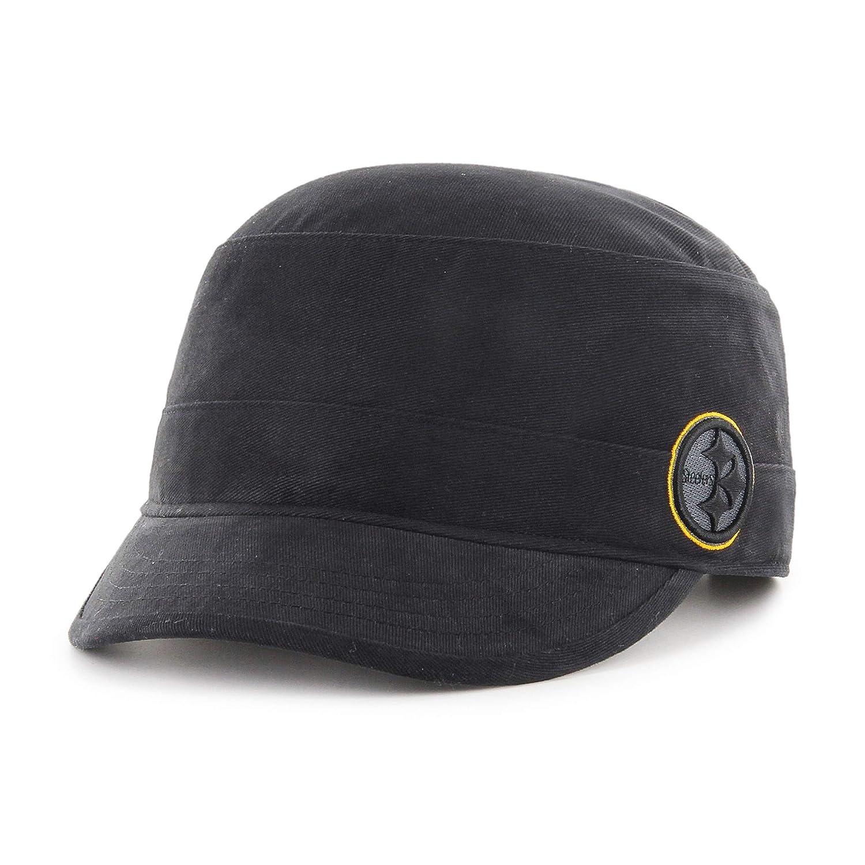 8f42ccdff NFL Pittsburgh Steelers Female Shipmate OTS Cadet Military-Style Adjustable  Hat, Black, Women's, Baseball Caps - Amazon Canada