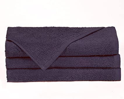 Towels by Doctor Joe Think Thick Navy Blue 16 x 27 Super Absorbent Car Wash and Detailing Towel Pack of 12 D-16274.5-NAVI