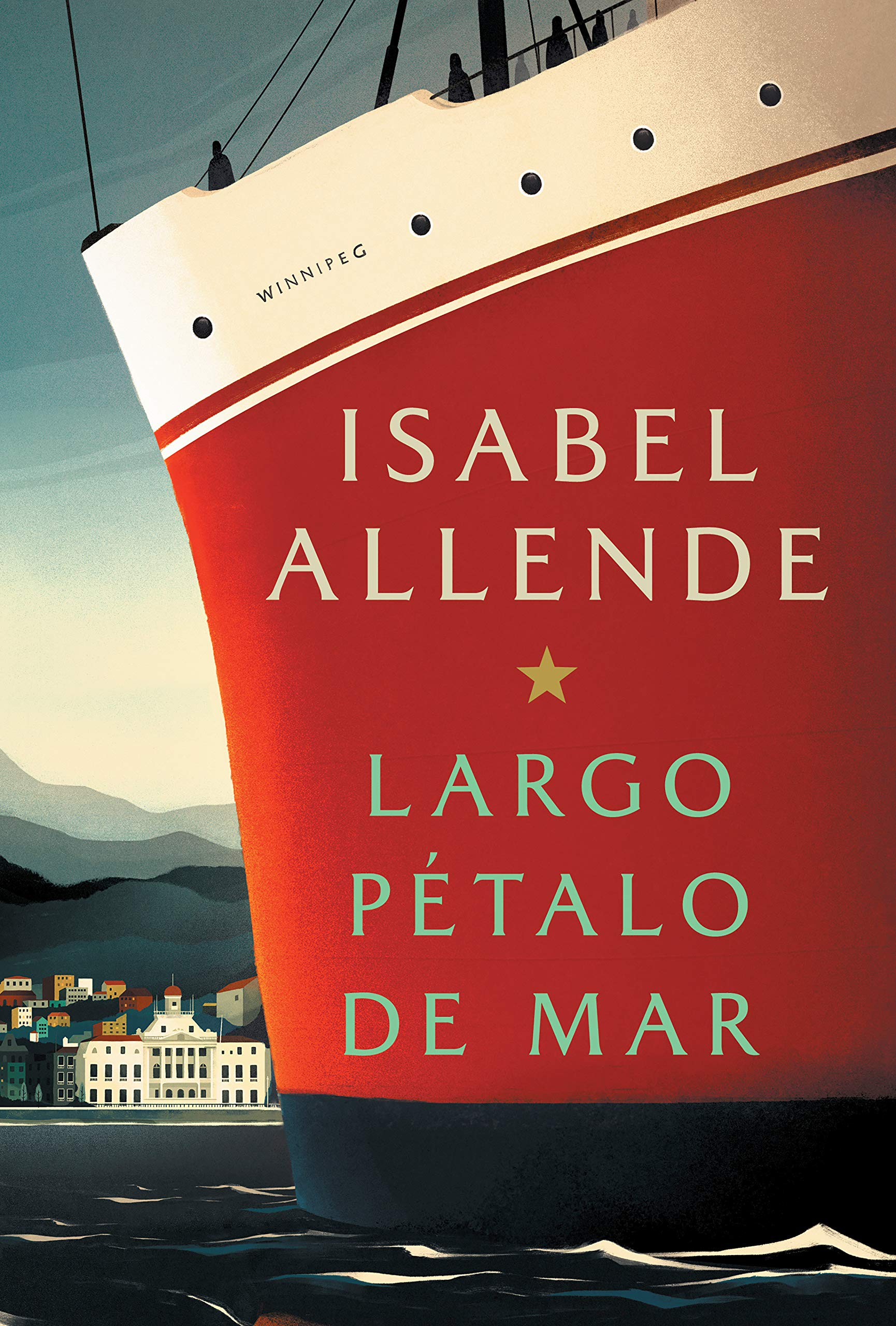 Largo pétalo de mar: Isabel Allende: 9781984899163: Books