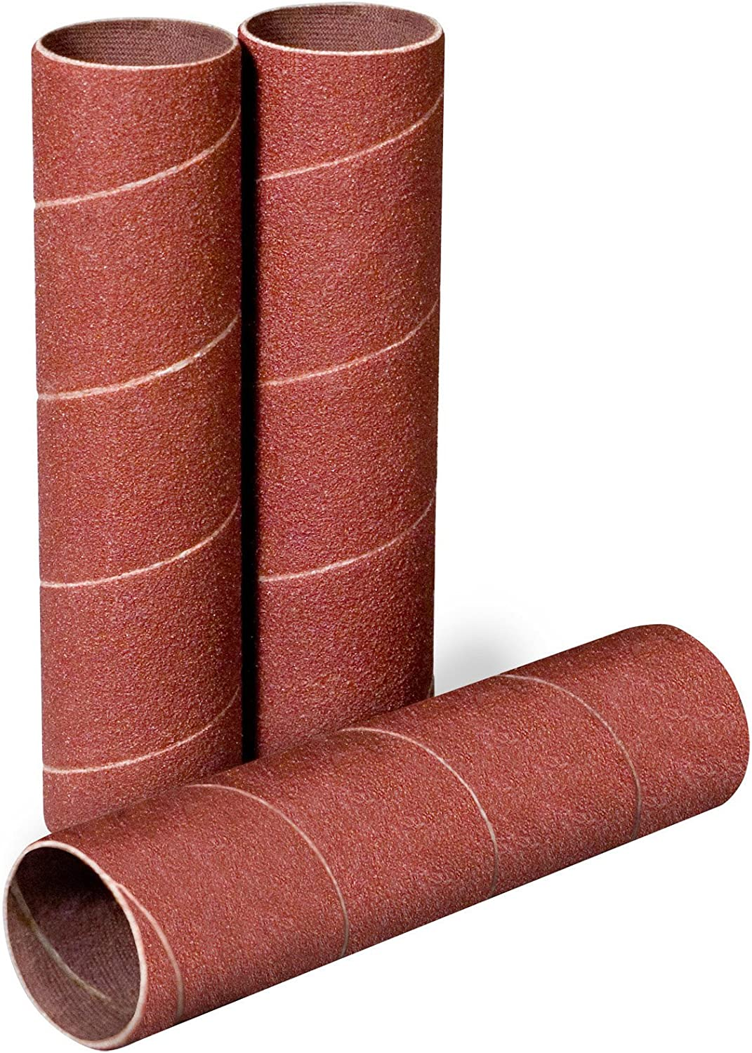 80 Grit 1//2 in Diameter Spiral Band Pack of 30 Pack Qty: 100, 1-1//2 in Wide