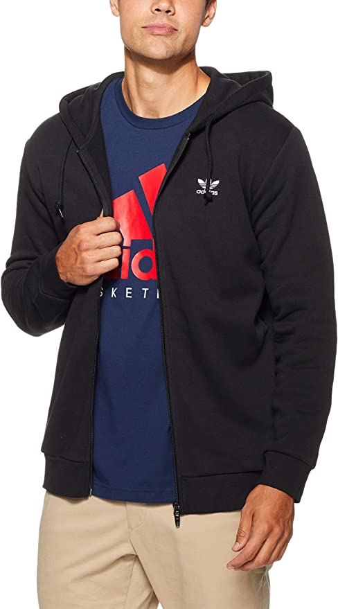 TALLA XS. adidas TRF FLC - Sudadera con Capucha Hombre