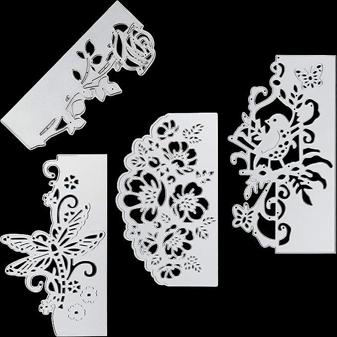 Papillon Silhouette Metal Die Cut stencil Butterfly Girl Sue Wilson Cutting Dies