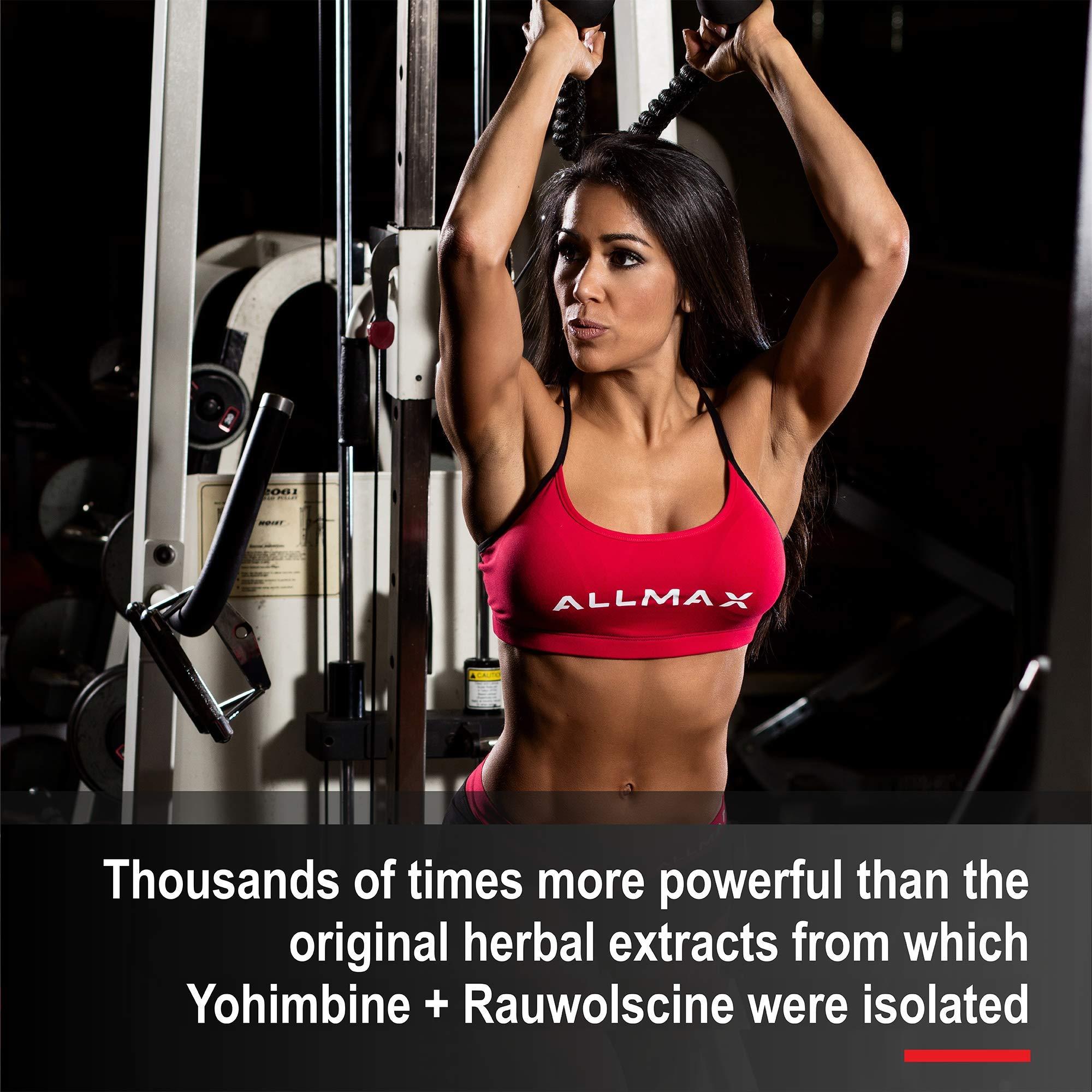 ALLMAX Nutrition Yohimbine + Rauwolscine, 60 Capsules by ALLMAX Nutrition (Image #3)