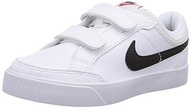 Nike Capri 3 Ltr (Psv) 579948 106 Jungen Tennisschuhe Weiß
