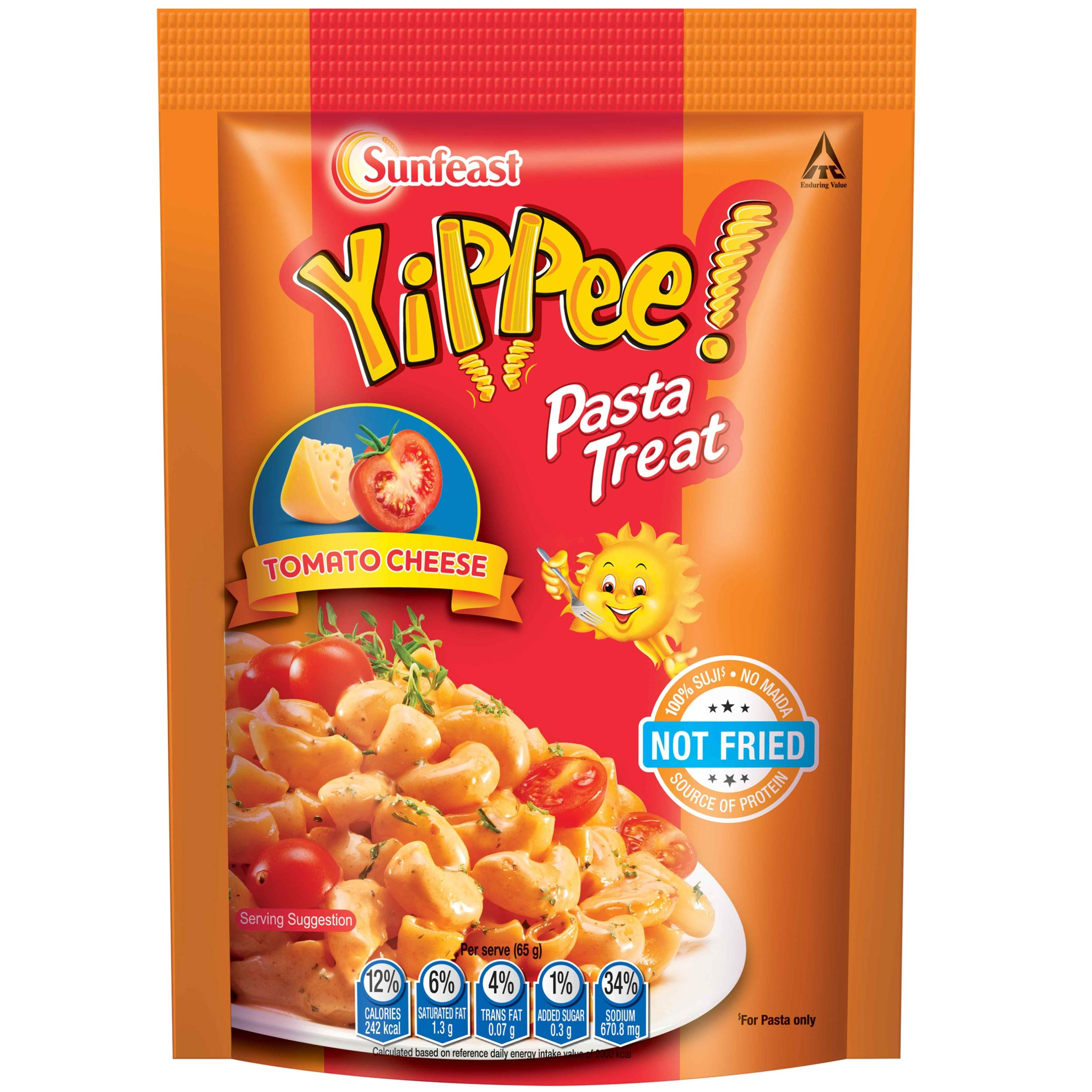 Sunfeast YiPPee! Pasta Treat Tomato Cheese | 65g pack