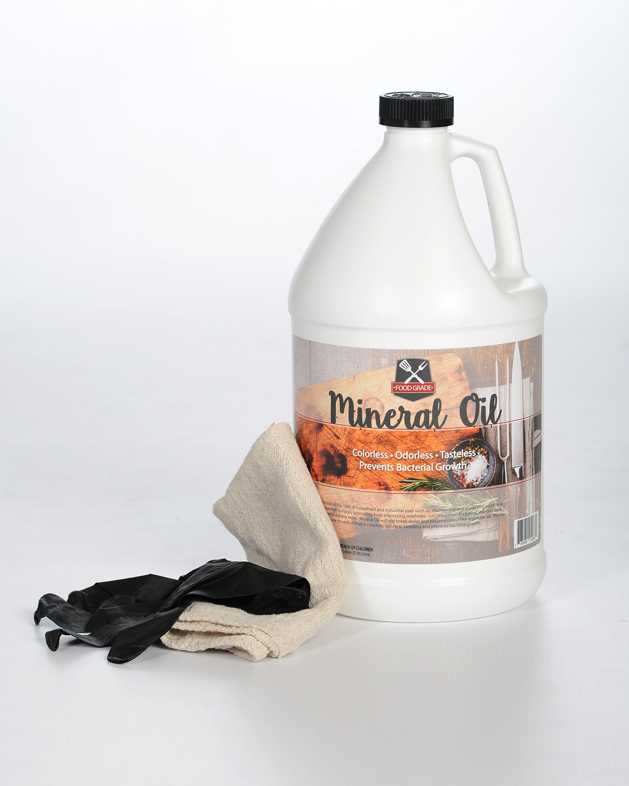 100% Pure Food Grade Mineral Oil - USP Certified and NSF