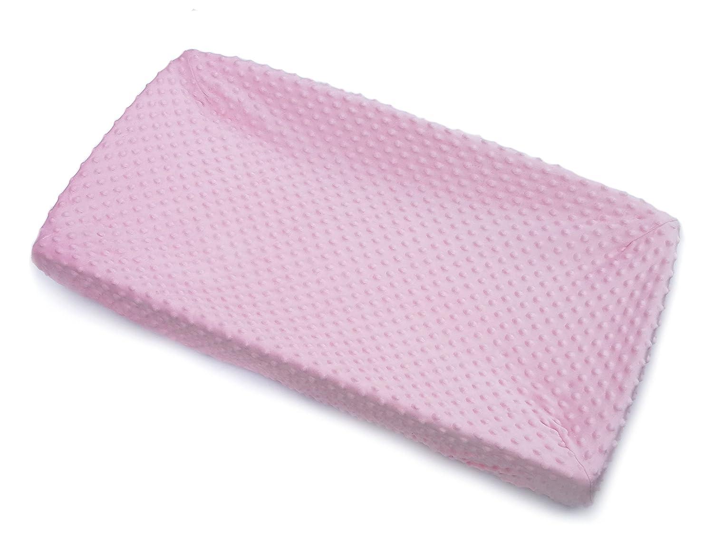 Bubble Dot Minky Fabric Nursing Pillow Slipcover BOP.13 Breastfeeding Pillow Cover Made in USA