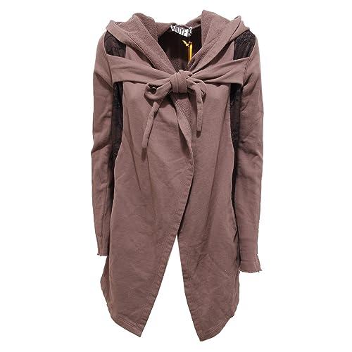 1929R felpa donna ANIYE BY felpe giacca tortora sweatshirt jacket women