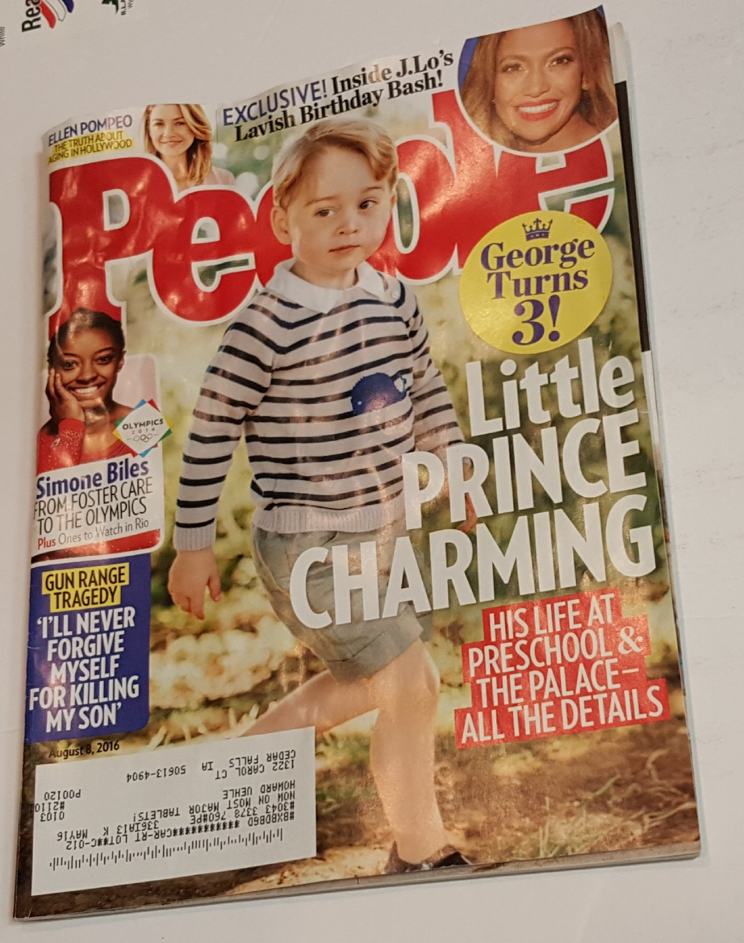 Download People Magazine August 8 2016  Little Prince Charming – George turns 3! pdf epub