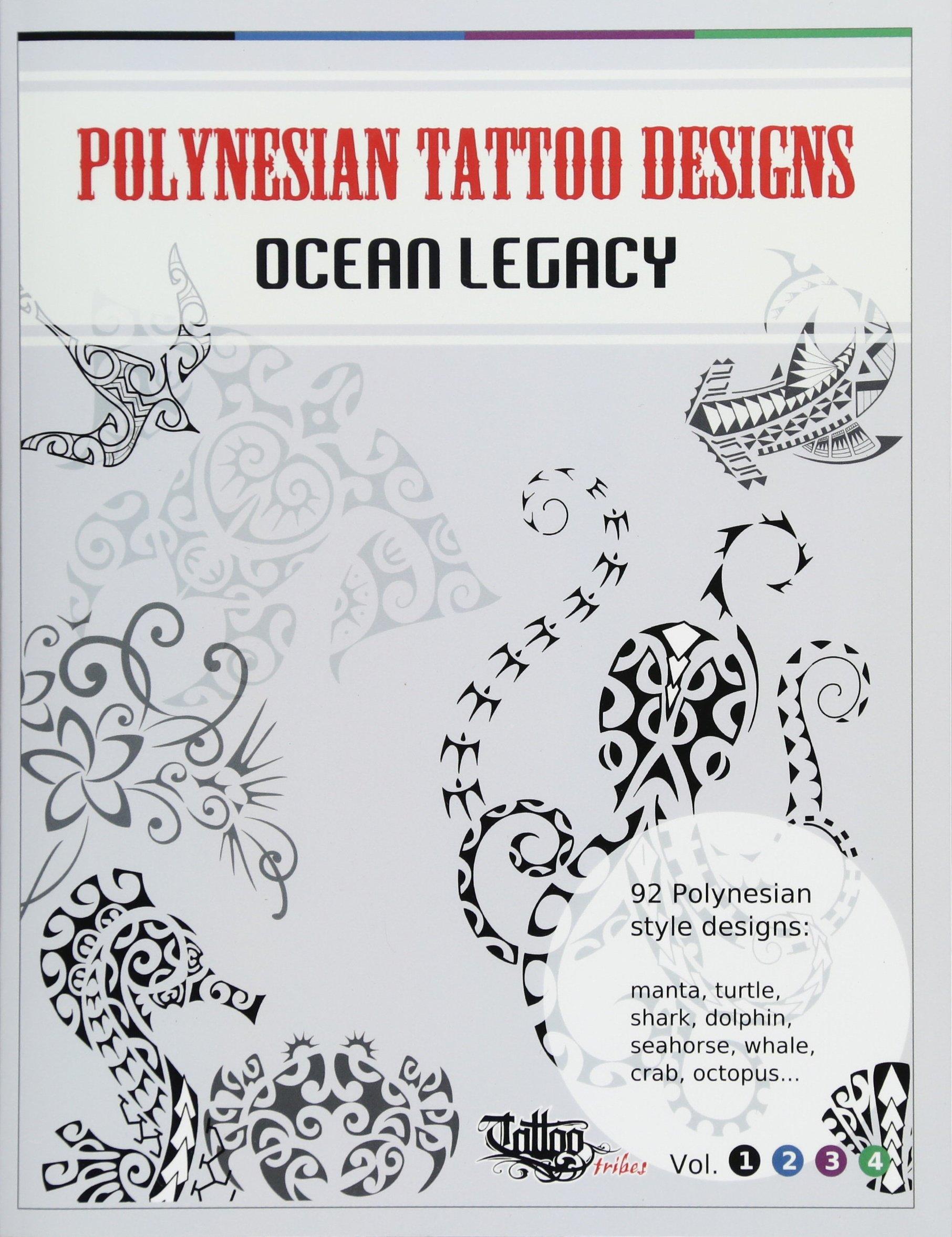 Polynesian Tattoo Designs Ocean Legacy TT Design Books Volume 1 Roberto Gemori 9788890601668 Amazon