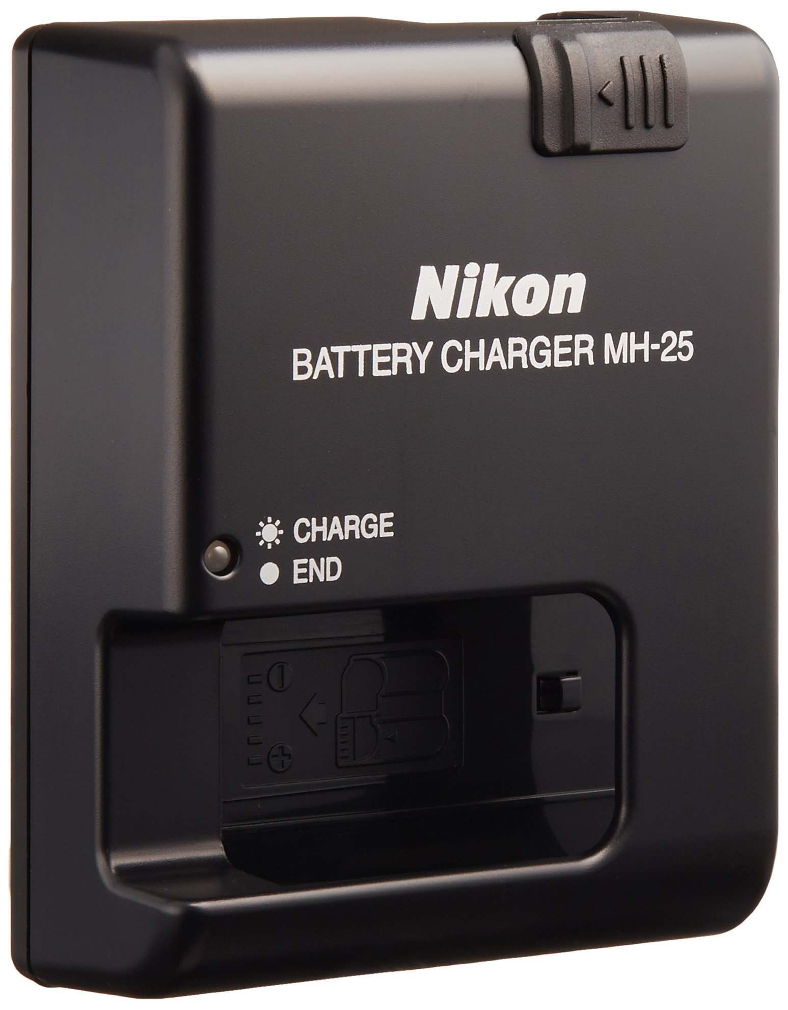 Nikon MH-25 Quick Charger for EN-EL15 Li-ion Battery compatible with Nikon D7000 and V1 Digital Cameras by Nikon