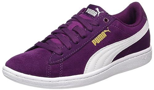 68a13b99b62 Puma Women s Vikky Purple Sneakers-7 UK India (40.5 EU) (36262418 ...