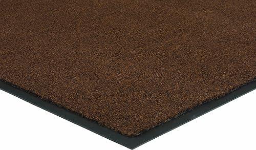 Herco 4 x 6 Indoor Outdoor Plush Carpet Mat – Brown