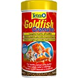 Tetra Goldfish Fish Food Granules, Complete Fish Food for All Smaller Goldfish, 80 g