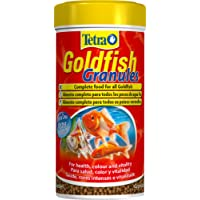 Tetra Goldfish Fish Food Granules, Complete Food for All Smaller Goldfish, 250 ml