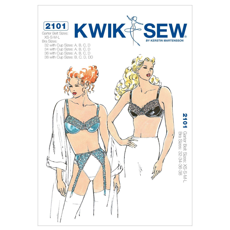 KwikSew Schnittmuster 2101 BH Gr. XS-S-M-L: Amazon.de: Küche & Haushalt