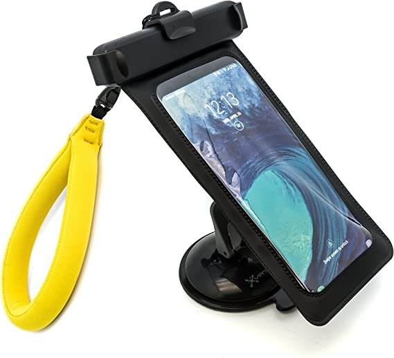 Leader/_Pneumatic Phone Mount Kayak Cell Phone Holders Kayak Accessory with Flexible Long Arm for Phone on Kayak