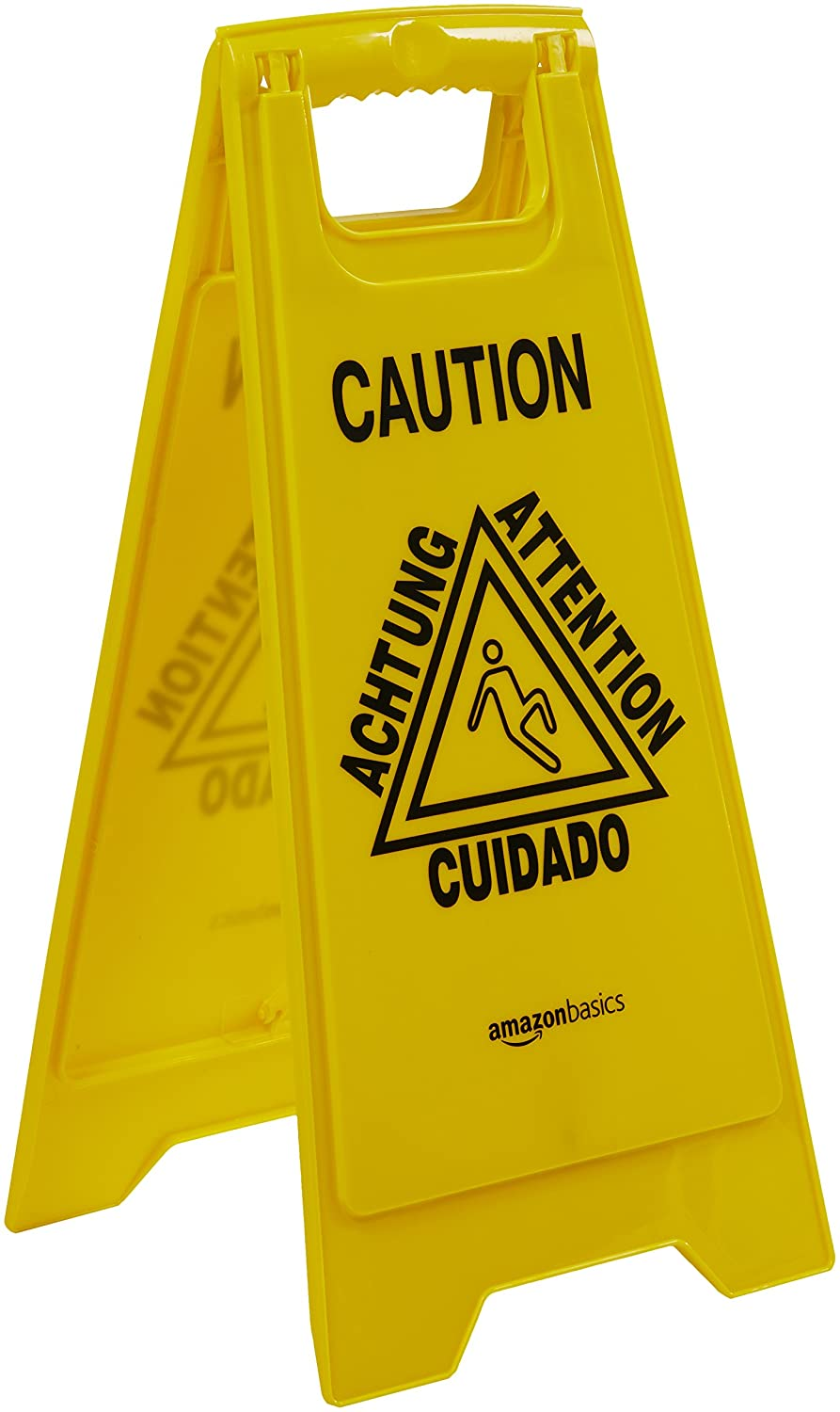 Multilingual Basics 2-Sided Floor Safety Sign Closed 6-Pack #338-2