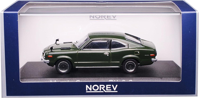 Norev Mazda RX-3 Savanna Coupe Dunkel Gr/ün 1972-1978 1//43 Modell Auto mit individiuellem Wunschkennzeichen