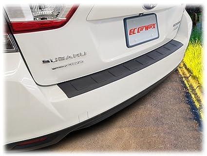 C&C Car Worx Rear Bumper Cover Guard Protection for 2017, 2018, 2019 Subaru  Impreza 5-Door Hatchback