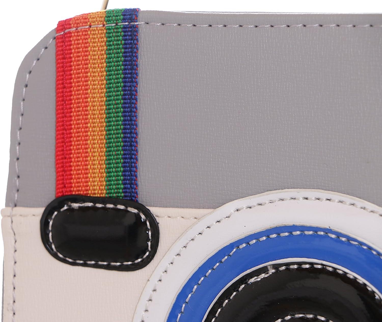 Borsa a spalla donna Multicolore multicolore Ma/ßen ca 18x20x7cm Kawaii-Story LB-94