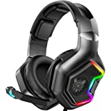 ONIKUMA Gaming Headset -Xbox One Headset PS4 Headset with 7.1 Surround Sound Pro Noise Canceling Gaming Headphones with…