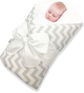 Amazon Com Bundlebee Baby Wrap Swaddle Blanket Built In Organic