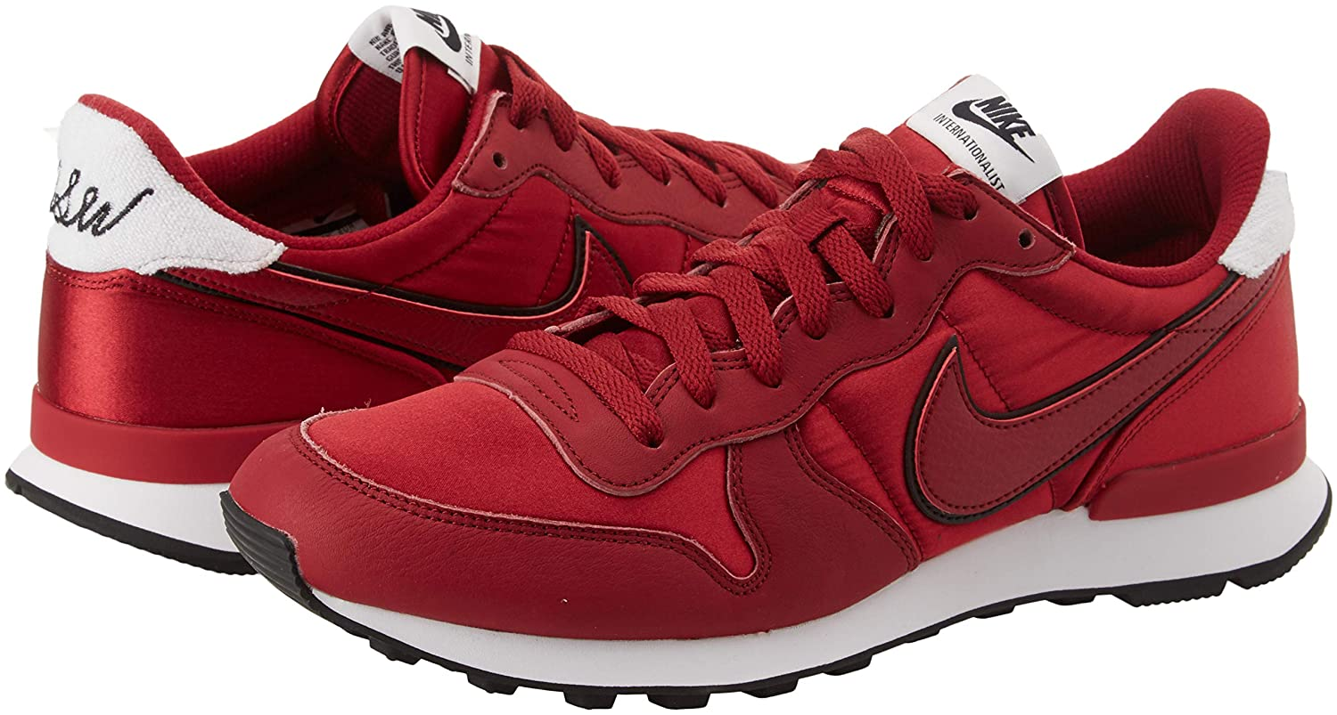separation shoes 61f8b 24607 Nike Damen W Internationalist Heat Fitnessschuhe, Mehrfarbig Red Crush White  600, 44 EU  Amazon.de  Schuhe   Handtaschen