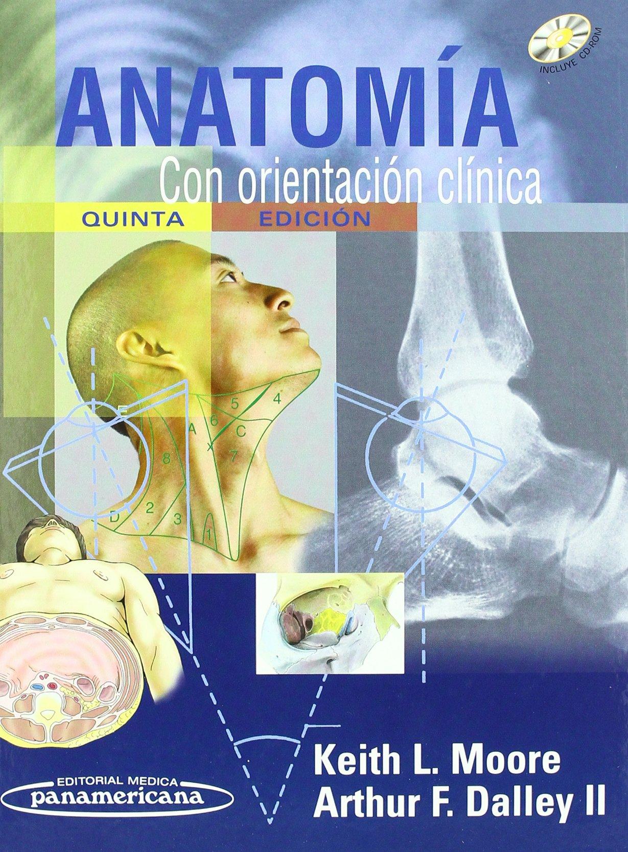 Anatomia con orientacion clinica / Clinically Oriented Anatomy ...
